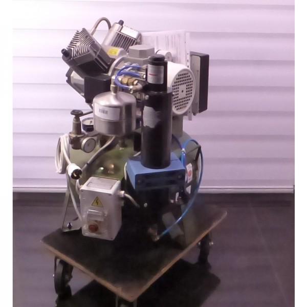 Cattani Monofase Kompressor 2 Zylinder 45 Liter