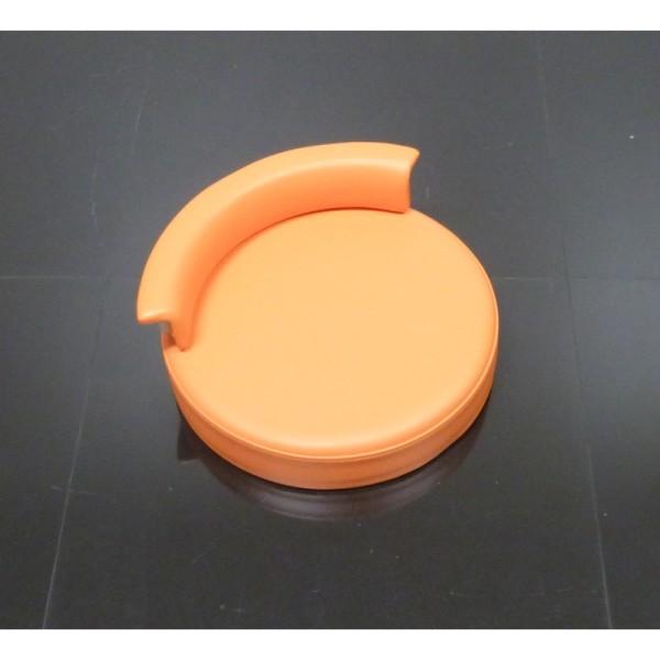 Polster Orange Rollhocker Arztstuhl
