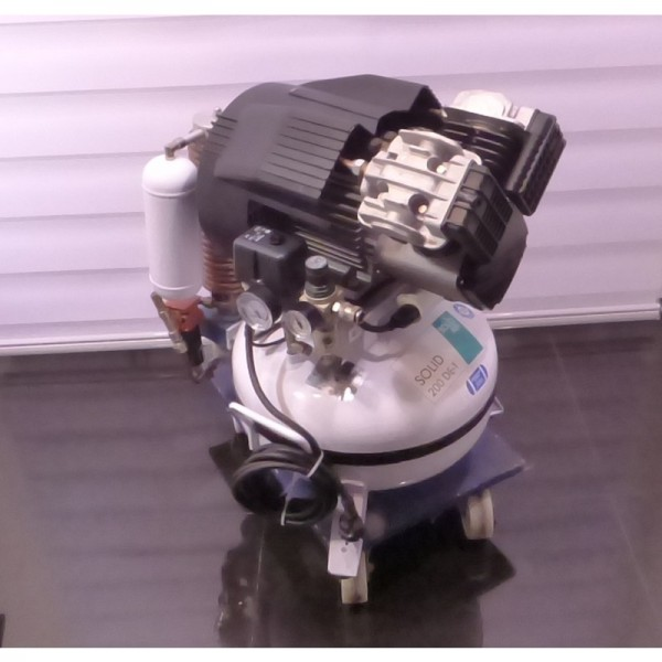 Solid Air Solid Kompressor 200 DE-T Druckluft